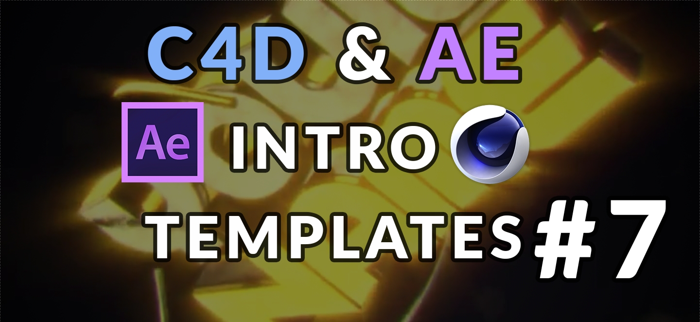 top 10 3d intro templates 7 after effects cinema 4d