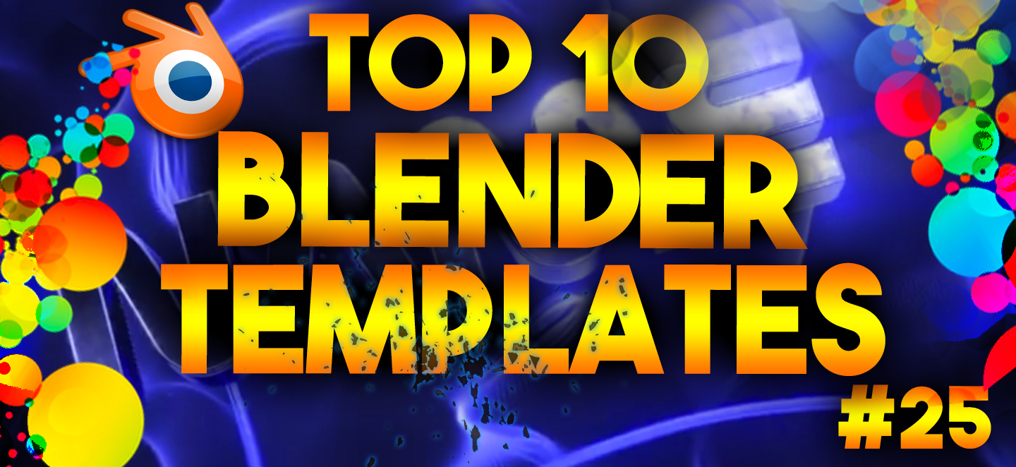 top 10 best blender 3d intro templates 25 free downloads