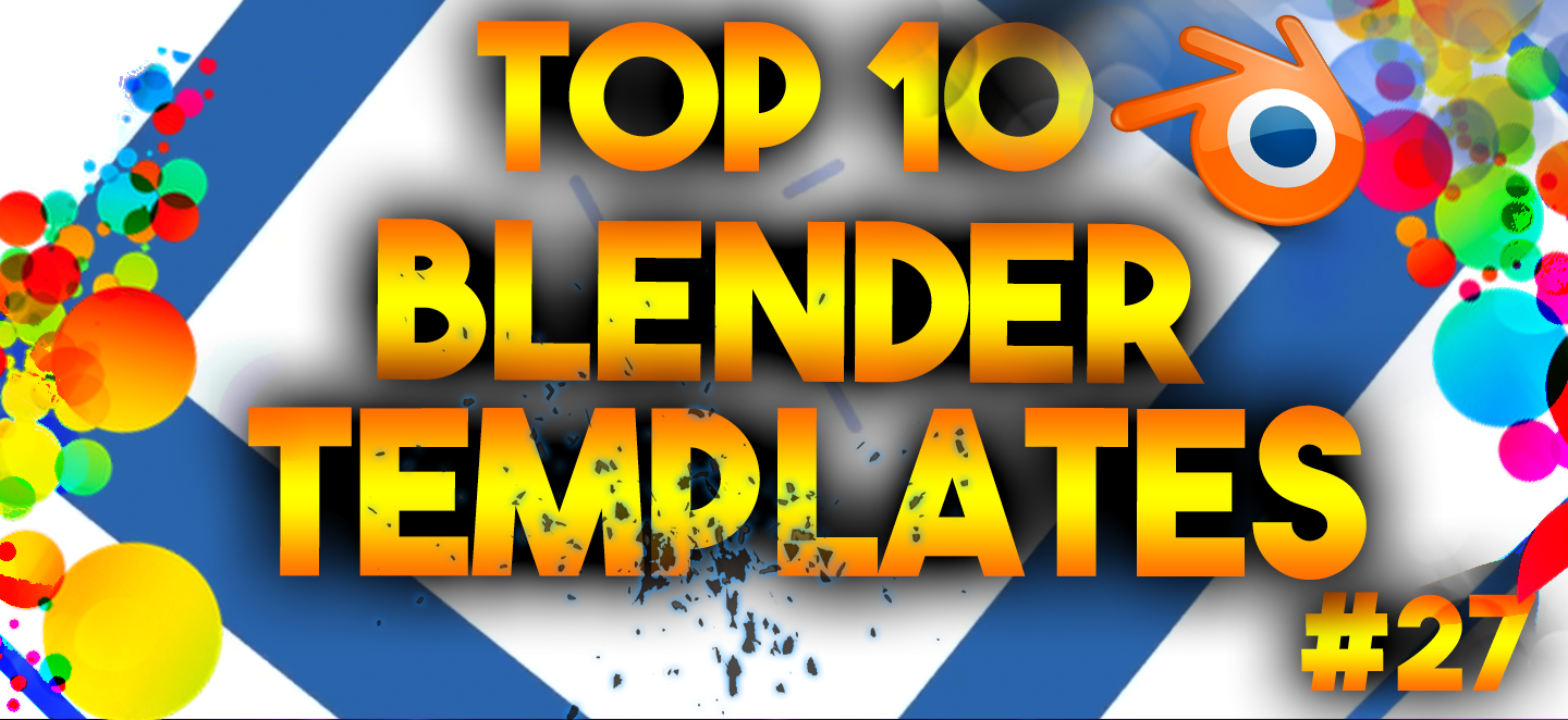 Top 10 Best Blender 3d Intro Templates 27 Free Downloads