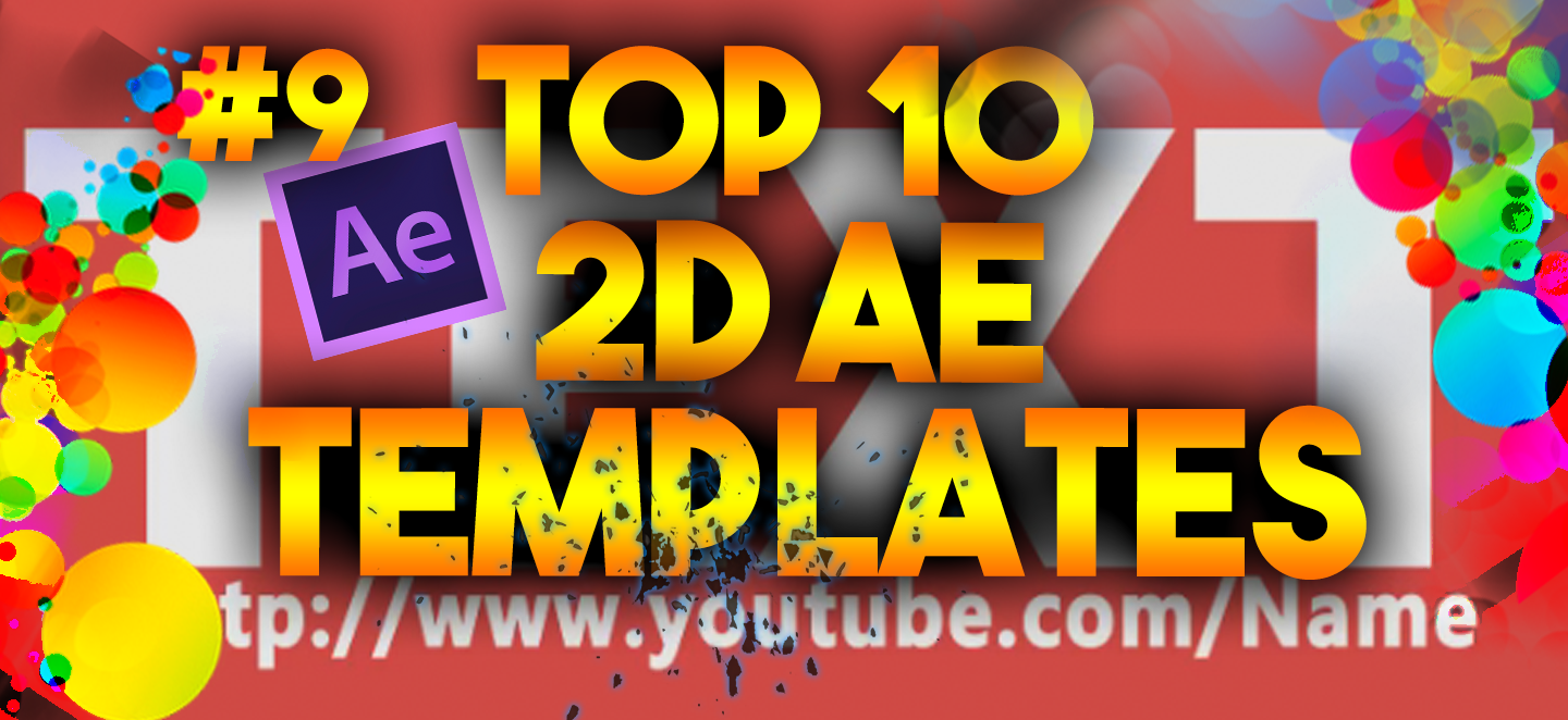 top 10 free 2d intro templates 9 after effects
